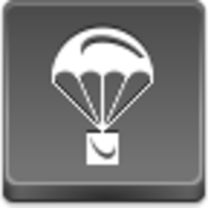 Free Grey Button Icons Parachute Image