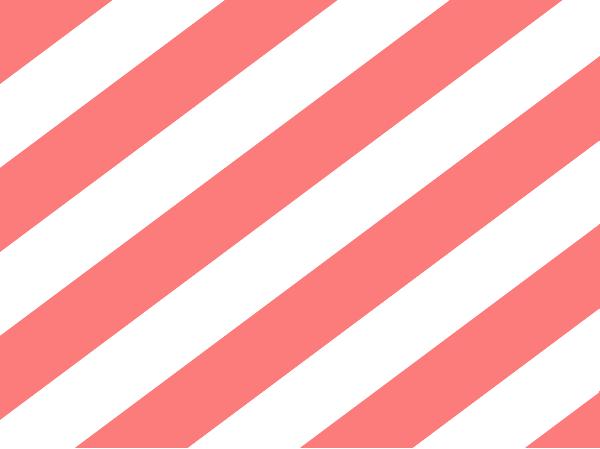 white amp coral stripes clip art at clkercom vector clip