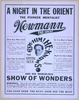 A Night In The Orient The Pioneer Mentalist Newmann The Great And His Marvelous Show Of Wonders. Image