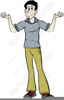 Clipart Shrugging Shoulders Image