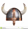 Viking Helmet With Horns Clipart Image