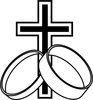 Cross W Rings Image
