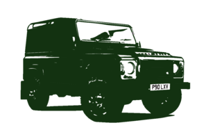 Land Rover Club Side Green Image