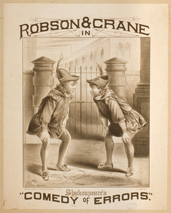 Robson & Crane In Shakespeare S  Comedy Of Errors  Image