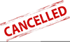 Cancelled Meeting Clipart Image