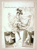 [woman Dancing In Two Scenes, Performing Acrobatics In Third] Image