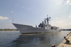Uss Vandegrift (ffg 48) Arrives In Ho Chi Minh City, Vietnam Image