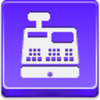 Free Violet Button Cash Register Image
