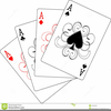 Ace Playing Cards Clipart Image
