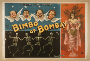 A Magical Musical Comedy, Bimbo Of Bombay Image