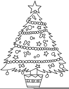 Christmas Presents Clipart Black And White Image