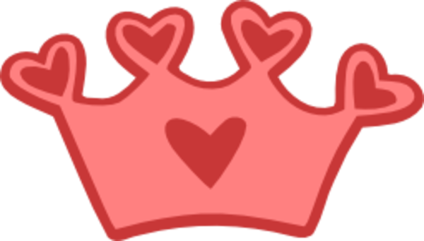 Heart Crown imageQueen Of Hearts Crown Clip Art