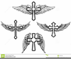 Cross And Crown Clipart Image