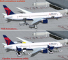 Delta Airlines Airplane Image