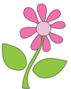 Free Cute Flowers Clipart Image