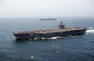 Uss Eisenhower & Uss George Washington Image