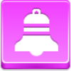 Free Pink Button Christmas Bell Image