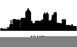 free clipart atlanta skyline free images at clker com vector rh clker com