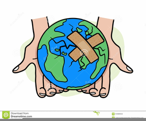 Heal The World Clipart Image