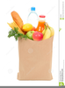 Free Clipart Grocery Bag Image