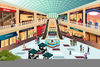 Shopping Mall Clipart Free Image