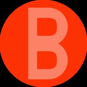 Xbox Controller B Button Clip ArtXbox X Button