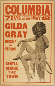 Gilda Gray Herself In Person. Image