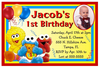 First Birthday Invitation Clipart Image
