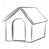 House Outline Drawing Clipart Image