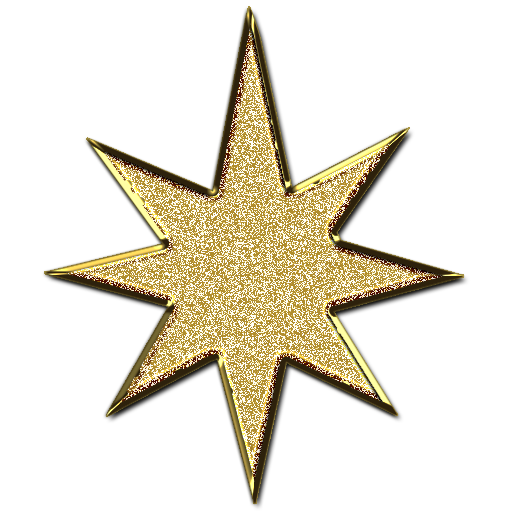 Star d glitter gold free images at clker vector
