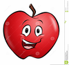 Smiling Apples Clipart Image