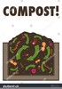 Free Clipart Compost Pile Image