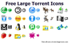 Free Large Torrent Icons Image