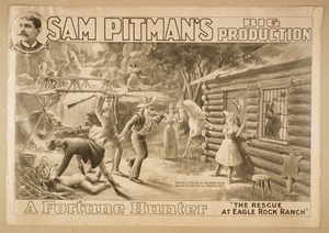 Sam Pitman S Big Production, A Fortune Hunter Image