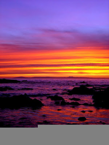 sunset purple orange free images at clker com vector clip art rh clker com Sunrise Over Water Clip Art Easter Sunrise Clip Art
