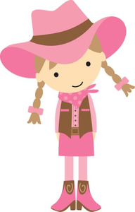 free cute cowgirl clipart free images at clker com vector clip rh clker com Free Clip Art Little Cowgirl Free Clip Art Little Cowgirl