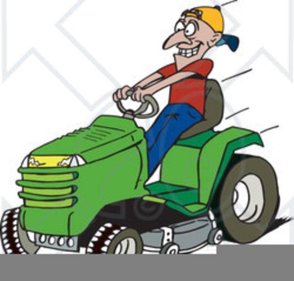John Deere Riding Mower Clipart Free Images At Clker Com Vector