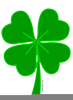 Free Four Leaf Clover Clipart Image