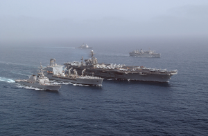 At Sea With The Uss John F. Kennedy Battle Group (jun. 19, 2002 Image