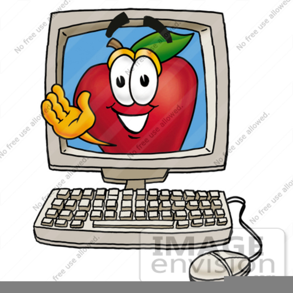 Free Clipart For Apple Computers Free Images At Clker Com Vector Clip Art Online Royalty Free Public Domain
