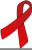 Free Red Ribbon Week Clipart Image