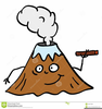 Volcanoes Clipart Image