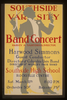 Southside Varsity Band Concert, Harvey A. Sartorius, Director, Southside High School, Rockville Centre Harwood Simmons, Guest Conductor. Image