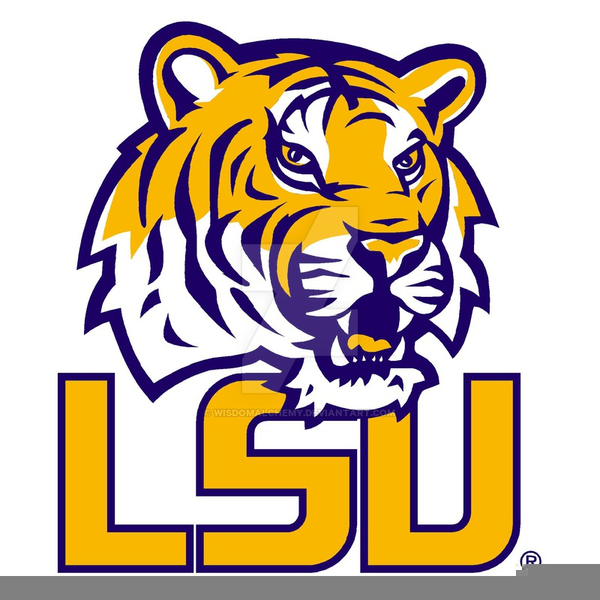 lsu tigers clipart free images at clker com vector clip art rh clker com lsu football clipart free lsu clipart free