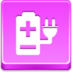 Free Pink Button Electric Power Image