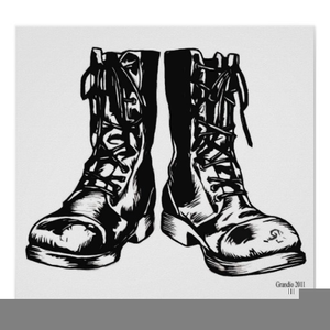 Free Combat Boots Clipart
