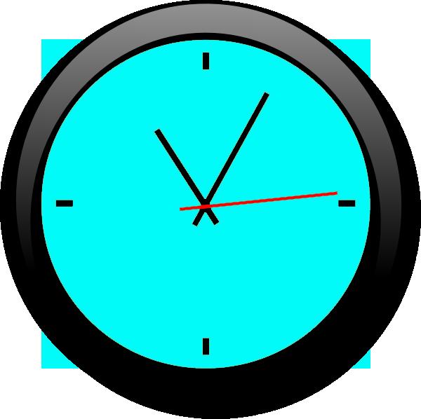 Clock L Blue A | Free Images at Clker.com - vector clip ...