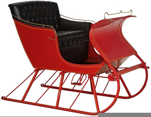 Clipart Horse Drawn Sleigh Free Images At Clker Com Vector Clip