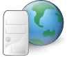 Web Server Icon Clip Art