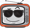 Free Clipart Tv Set Image